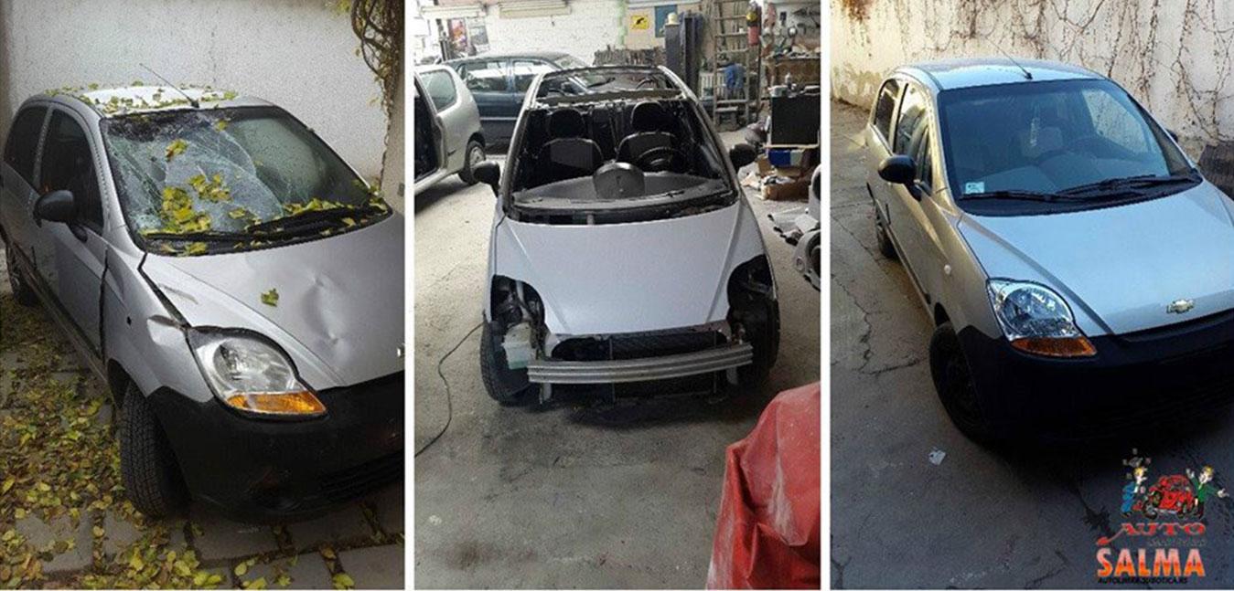 Tektiranja automobila, autolimarija, lakiranje i poliranje.  Kompjutersko mešanje boja. Sve na jednom mestu