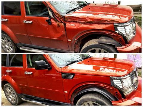 farbanje Dodge Nitro